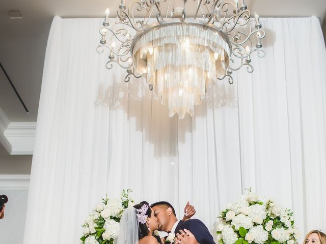 Rasheed and Cadeshia's wedding in Mississauga, Ontario 130