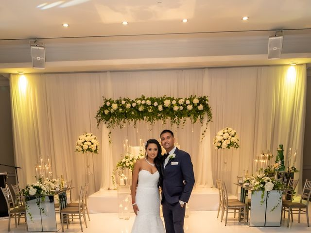Rasheed and Cadeshia's wedding in Mississauga, Ontario 136