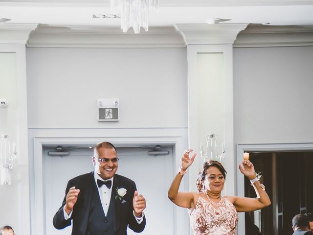 Rasheed and Cadeshia's wedding in Mississauga, Ontario 137