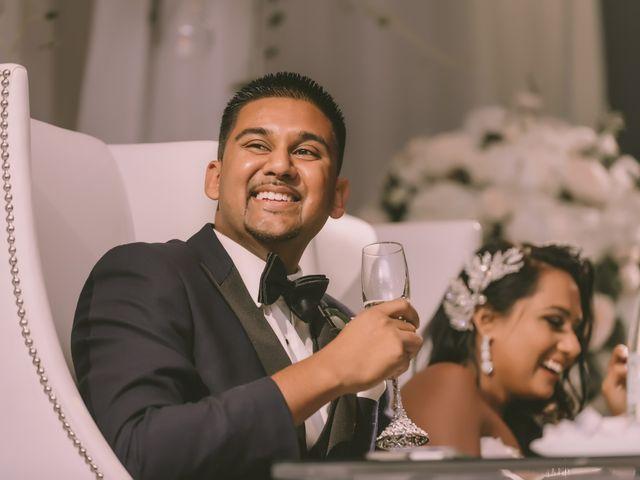 Rasheed and Cadeshia's wedding in Mississauga, Ontario 144