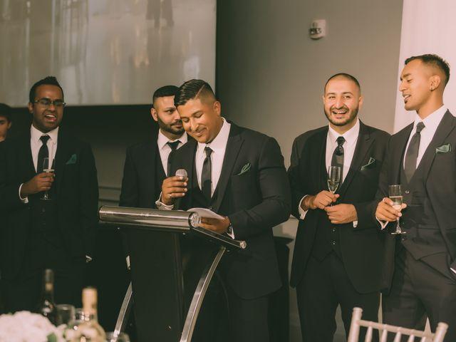 Rasheed and Cadeshia's wedding in Mississauga, Ontario 145