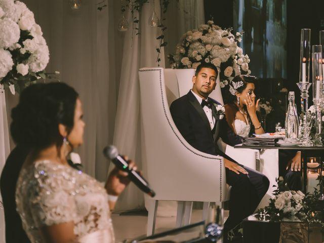 Rasheed and Cadeshia's wedding in Mississauga, Ontario 150