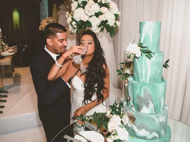 Rasheed and Cadeshia's wedding in Mississauga, Ontario 154