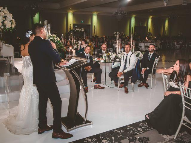 Rasheed and Cadeshia's wedding in Mississauga, Ontario 155