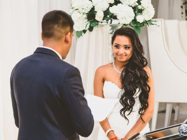 Rasheed and Cadeshia's wedding in Mississauga, Ontario 156