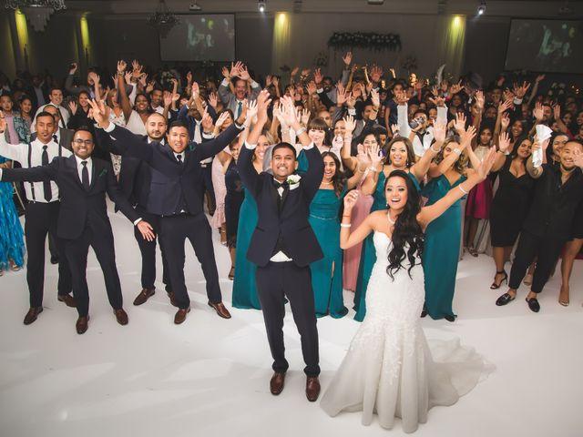 Rasheed and Cadeshia's wedding in Mississauga, Ontario 157