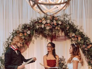The wedding of Silica Gel and Kelly 1