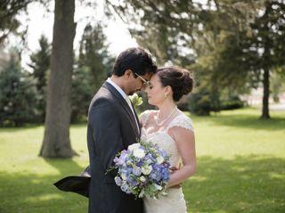 The wedding of Kendra and Rana