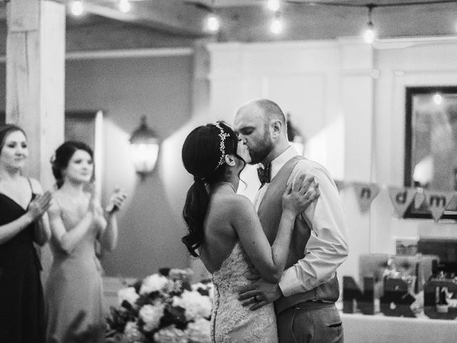 The wedding of Nadia and Chris