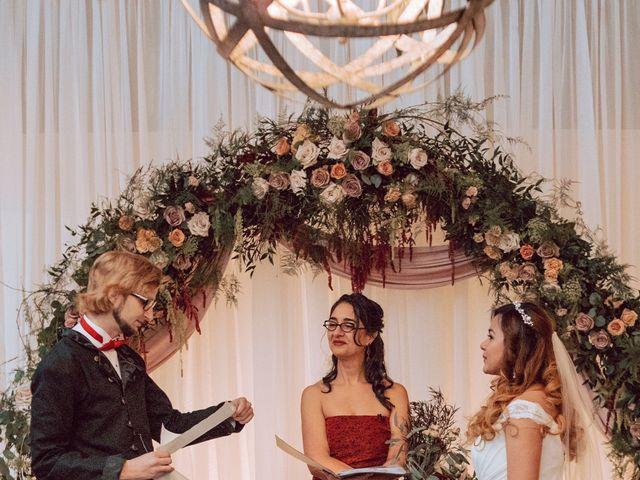 Kelly and Silica Gel's wedding in Kelowna, British Columbia 3