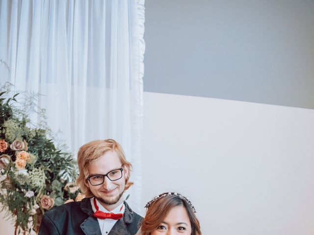 Kelly and Silica Gel's wedding in Kelowna, British Columbia 8