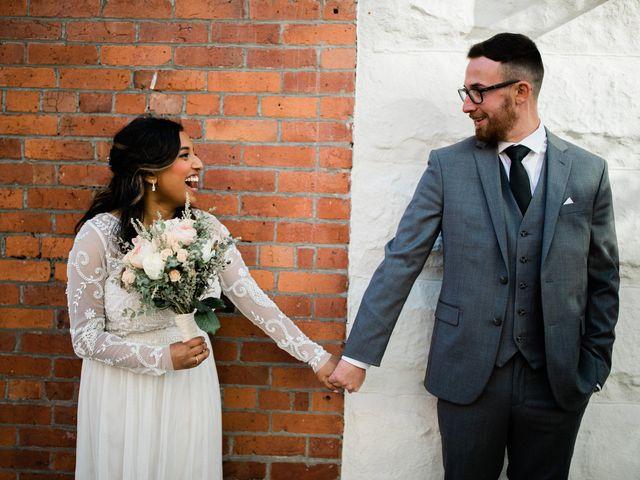 The wedding of Lavaniya and Matthew