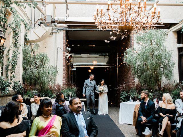 Matthew and Lavaniya's wedding in Vancouver, British Columbia 4
