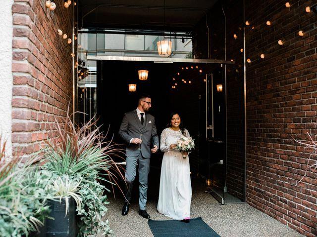 Matthew and Lavaniya's wedding in Vancouver, British Columbia 6