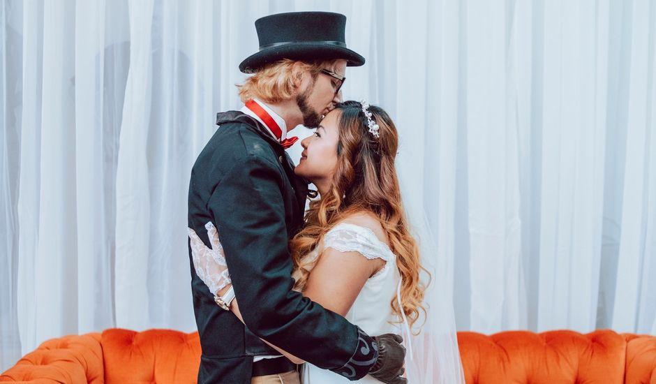 Kelly and Silica Gel's wedding in Kelowna, British Columbia