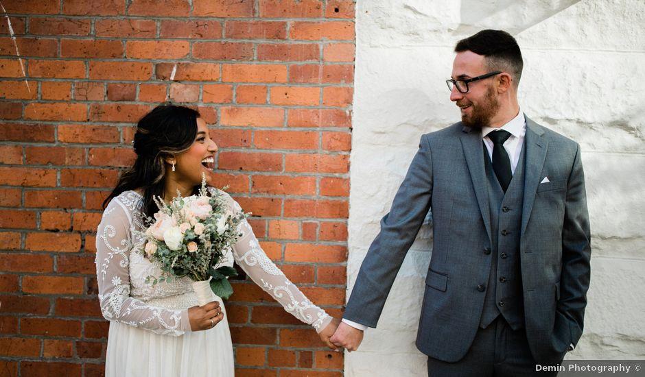 Matthew and Lavaniya's wedding in Vancouver, British Columbia