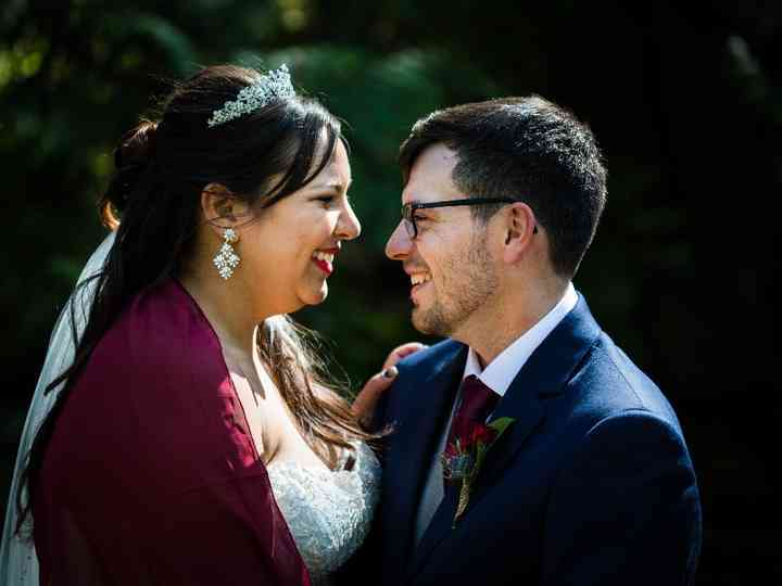 The wedding of Stefanie and Marcus