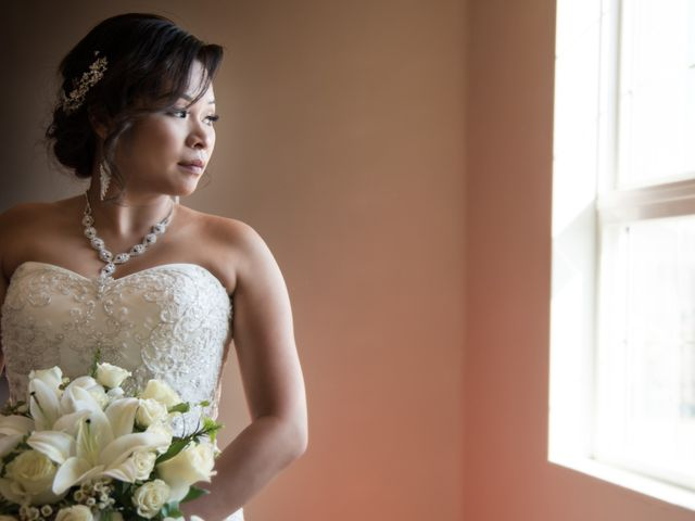 The wedding of Calvin and Melody