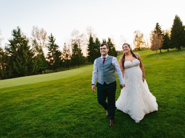 Marcus and Stefanie's wedding in Burnaby, British Columbia 1