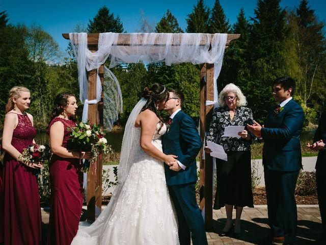 Marcus and Stefanie's wedding in Burnaby, British Columbia 5