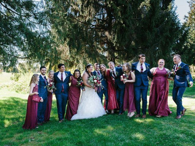 Marcus and Stefanie's wedding in Burnaby, British Columbia 6