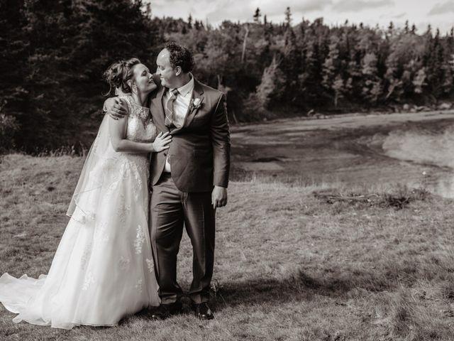 The wedding of Joelle and John