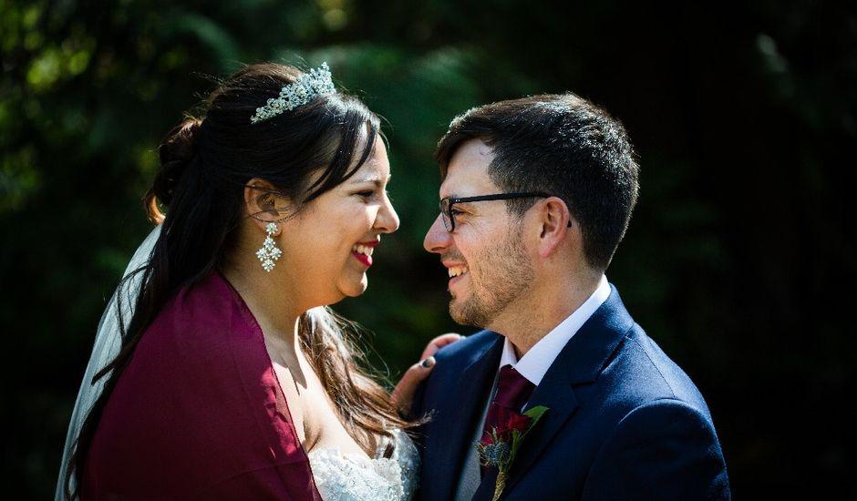 Marcus and Stefanie's wedding in Burnaby, British Columbia