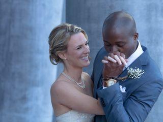 The wedding of Joy and Amando