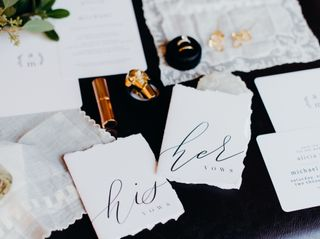 The wedding of Alicia and Mike 1