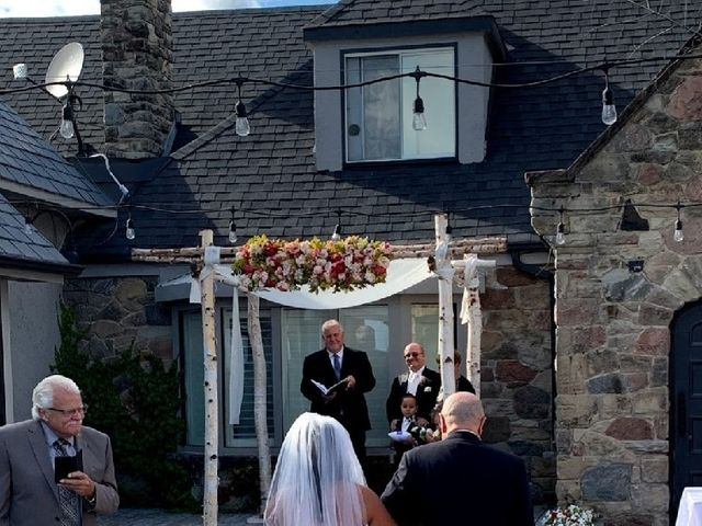 Justin and Claire's wedding in Oakville, Ontario 6