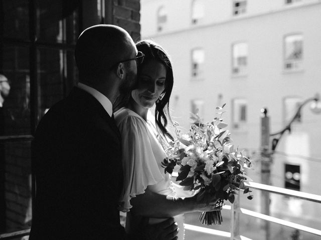 Mike and Alicia's wedding in Toronto, Ontario 8