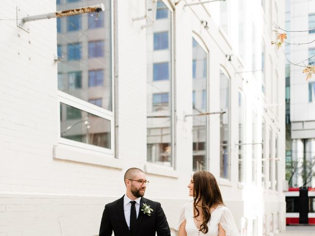 Mike and Alicia's wedding in Toronto, Ontario 9