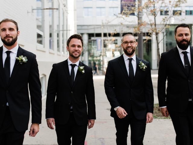Mike and Alicia's wedding in Toronto, Ontario 11