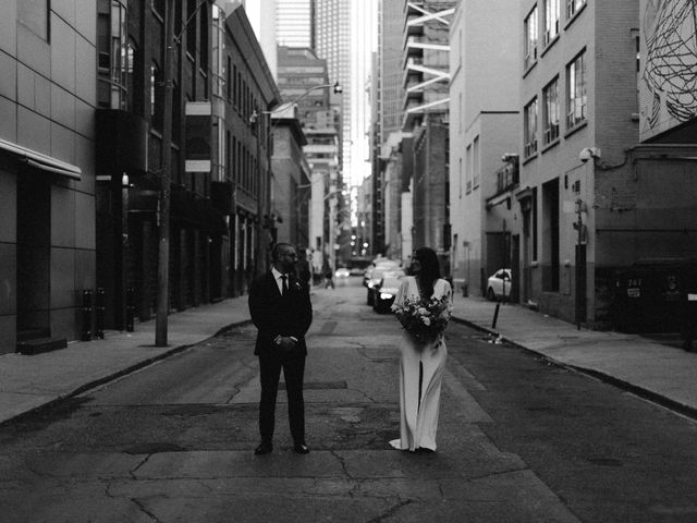 Mike and Alicia's wedding in Toronto, Ontario 15