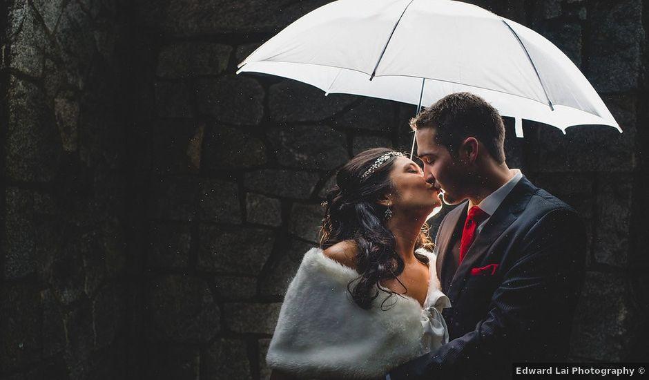 Justin and Tarah's wedding in Vancouver, British Columbia