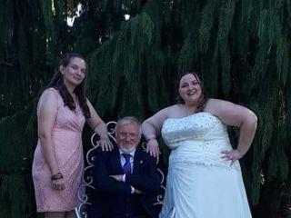 The wedding of Alie and Josh 1