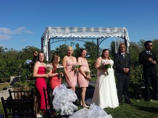 The wedding of Alie and Josh
