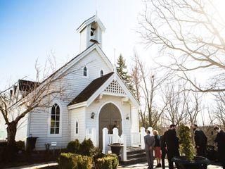 The wedding of Stephanie and Adam 1