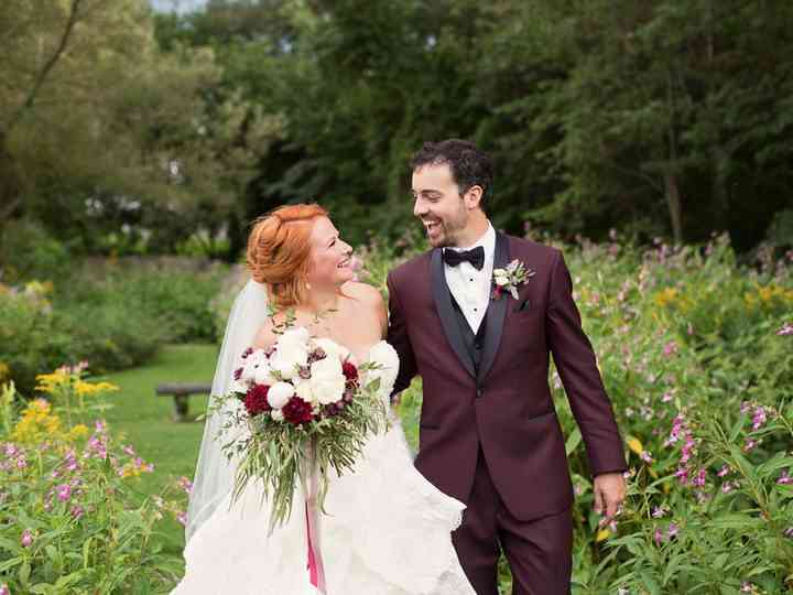 The wedding of Claudia and Charles-Alain