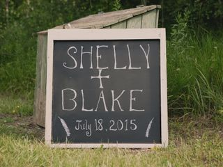 The wedding of Shelly and Blake 1