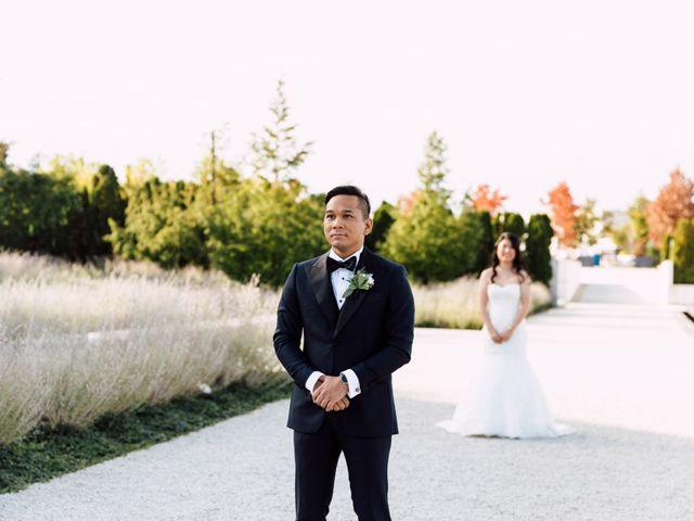 Justina and Daryl's wedding in Toronto, Ontario 12