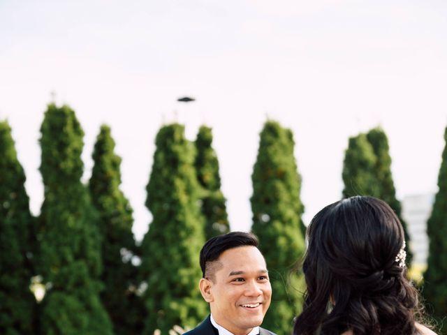 Justina and Daryl's wedding in Toronto, Ontario 16