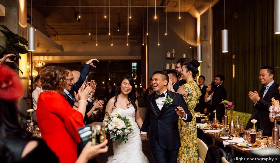 Justina and Daryl's wedding in Toronto, Ontario