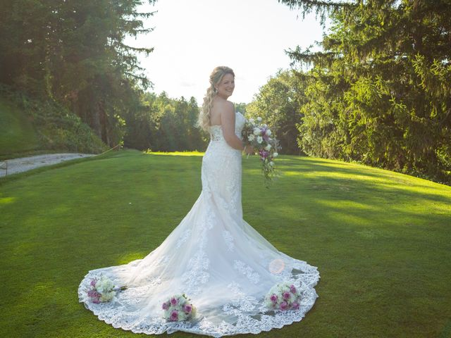 The wedding of Brittany and Derek