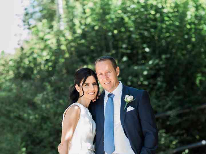 The wedding of Susie and Joe
