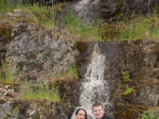 The wedding of Veronica and Brian