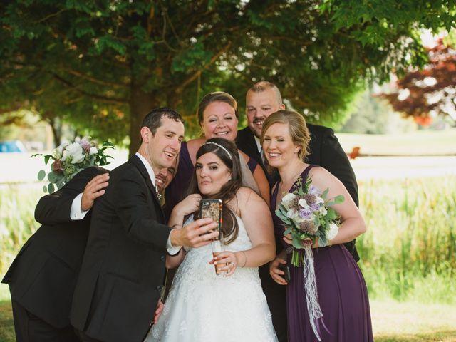 Graeme and Kristie's wedding in Pitt Meadows, British Columbia 7