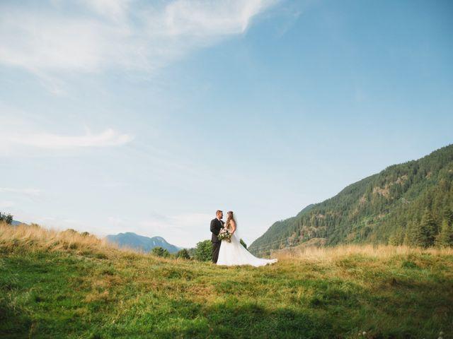 Graeme and Kristie's wedding in Pitt Meadows, British Columbia 1