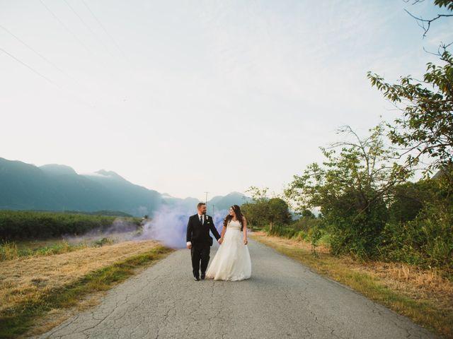 Graeme and Kristie's wedding in Pitt Meadows, British Columbia 12
