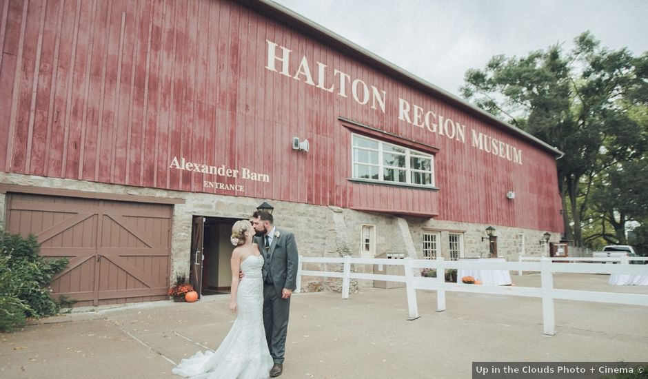 Vince and Sam's wedding in Milton, Ontario